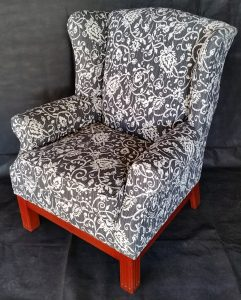 Residential Upholstery Service Wing Chair