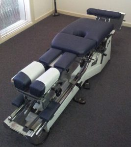 Medical Upholstery - Chiropractic Bed