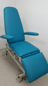 Medical Upholstery - Podiatry Chair